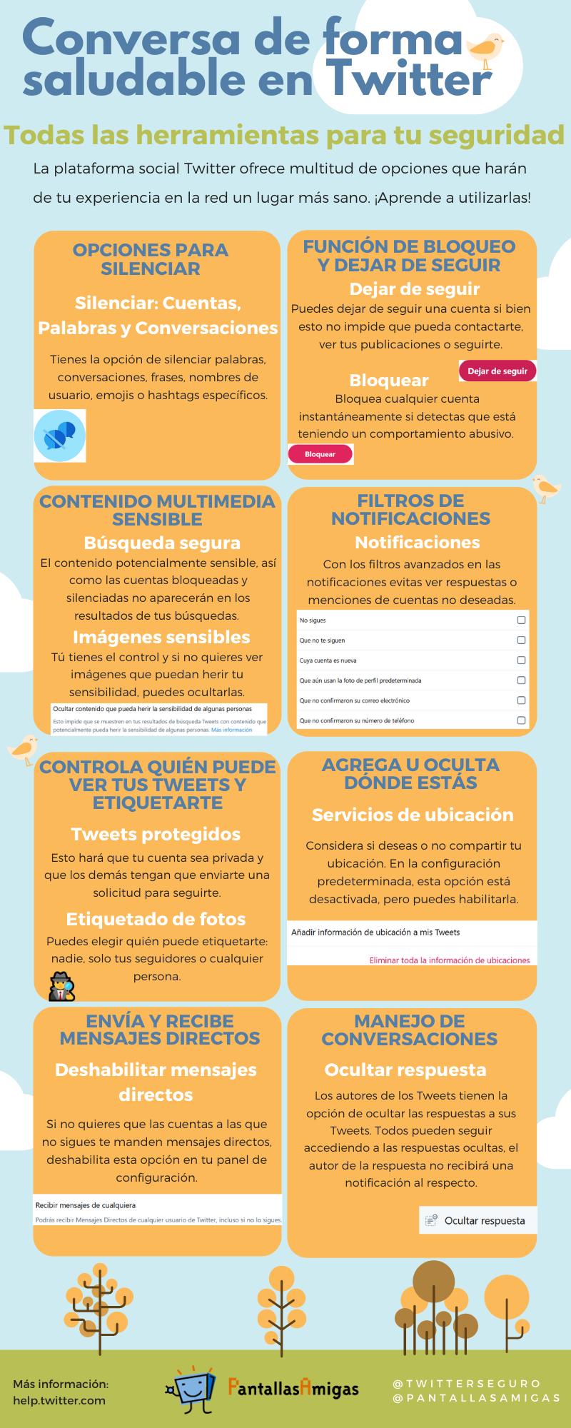 Infografia - PantallasAmigas Herramientas-utilizar-Twitter-seguridad