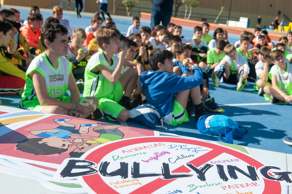 Participación de niños y niñas andaluces en la Copa COVAP