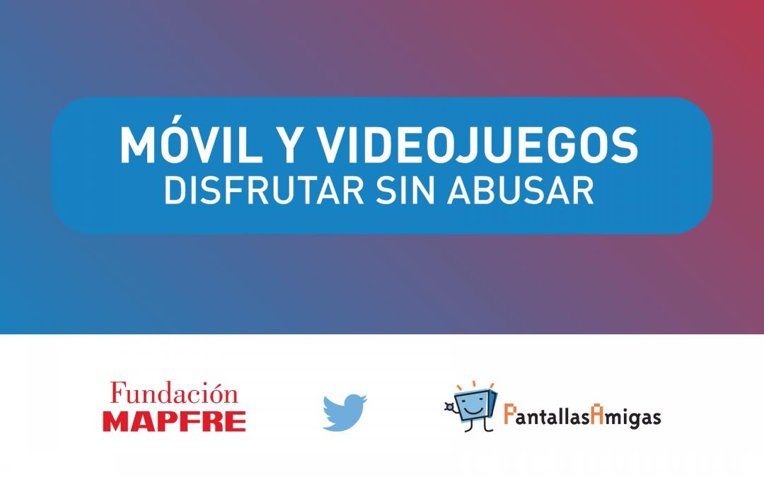 """""""Móvil y Videojuegos. Disfrutar sin Abusar"""", campaña para promover el bienestar digital familiar"""