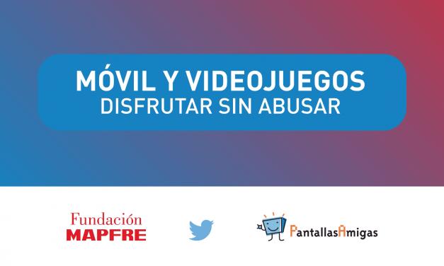 """Equilibrio Digital """"Móvil y Videojuegos. Disfrutar sin Abusar"""""""