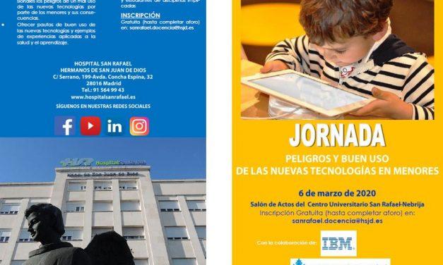"""Cibermanagers, aprendizaje-servicio para el bienestar y la ciudadanía digital en la Jornada """"Peligros y buen uso de las nuevas tecnologías en menores"""""""