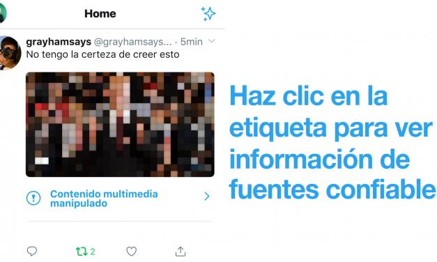 Twitter anuncia su nueva política ante los contenidos multimedia manipulados