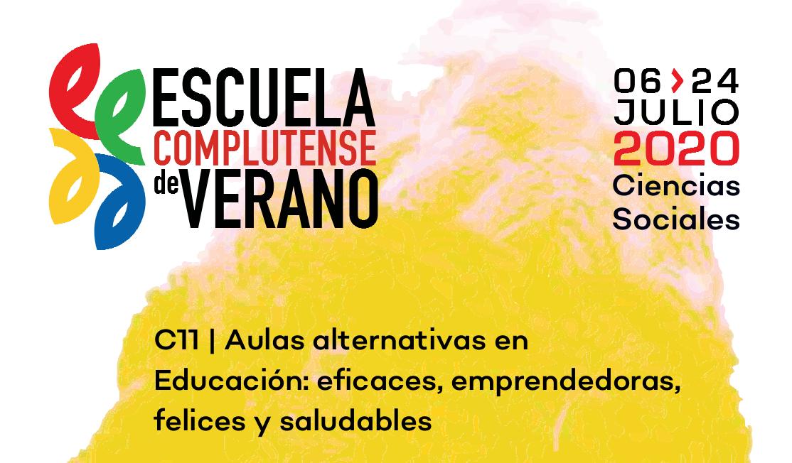 Curso C11 - Aulas alternativas en educación: eficaces, emprendedoras, felices y saludables.