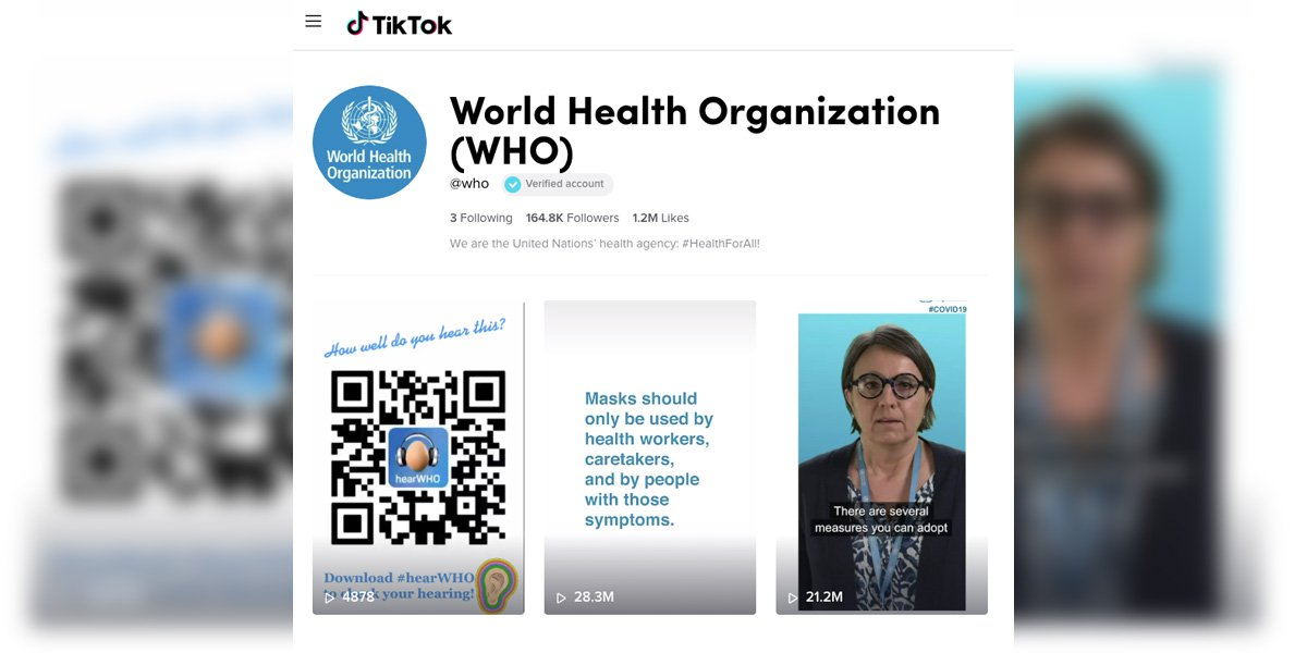 perfil-tiktok-Organizacion-Mundial-Salud-OMS