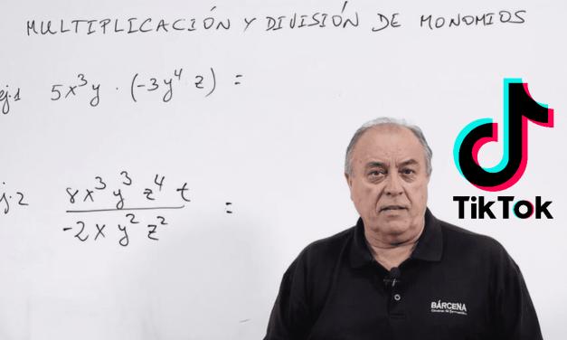 Carlos Maxi Bárcena, profesor de matemáticas, exprime el potencial educativo de TikTok