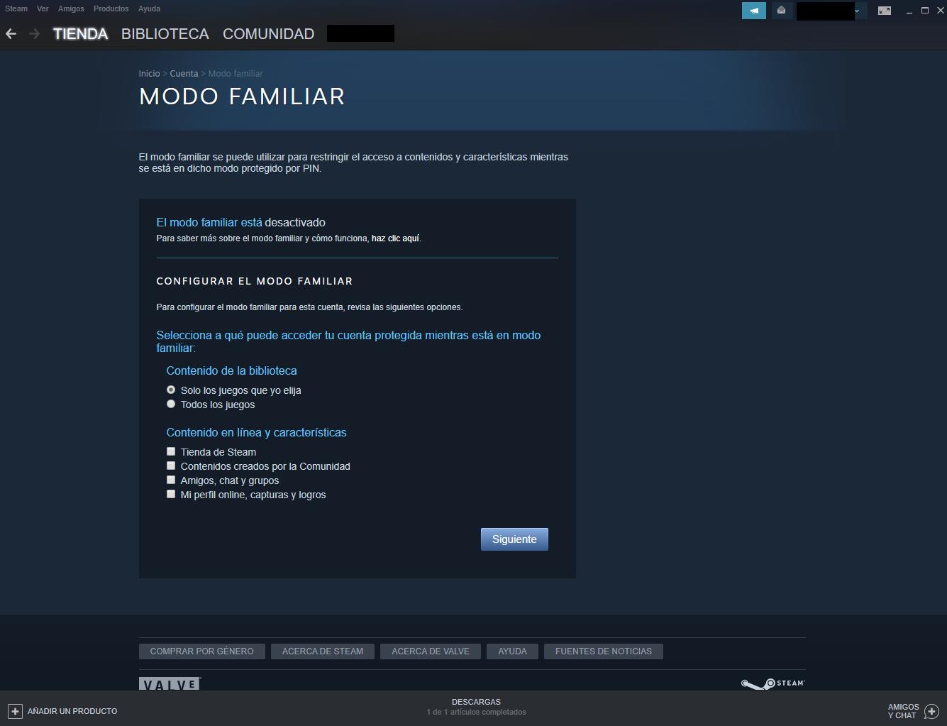 Steam-Control-Parental-Opciones-del-Modo-Familiar