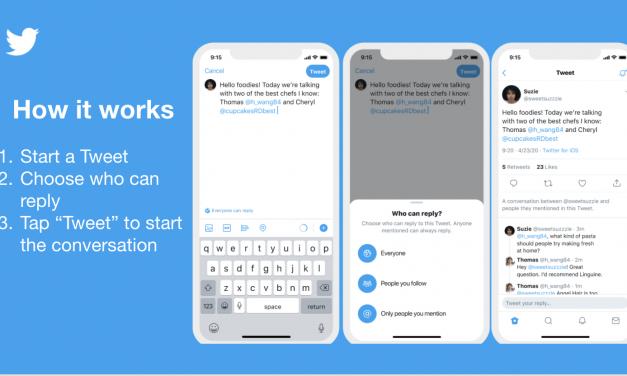 Twitter prueba funcionalidad para elegir con quién conversas potenciando un diálogo relevante