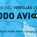 Practica el modo avión, una campaña que invita a descubrir y disfrutar las ventajas de la desconexión