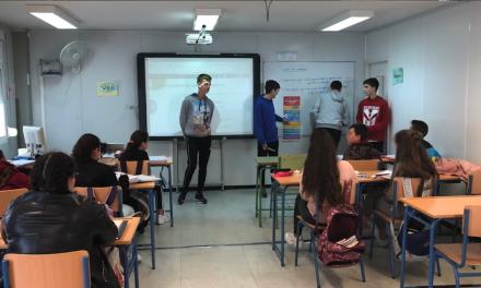 Cibermanagers del IES Alyanub, Almería, comentan su experiencia y desarrollo personal en el proyecto