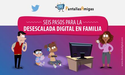 Seis pasos para la desescalada digital en familia