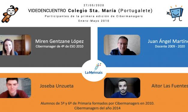 Cibermanagers celebra su X aniversario con un reencuentro, una década más tarde, del Colegio Santa María