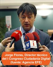 Jorge Flores recomienda medidas contra el ciberbullying en el I Congreso Internacional Ciudadanía Digital