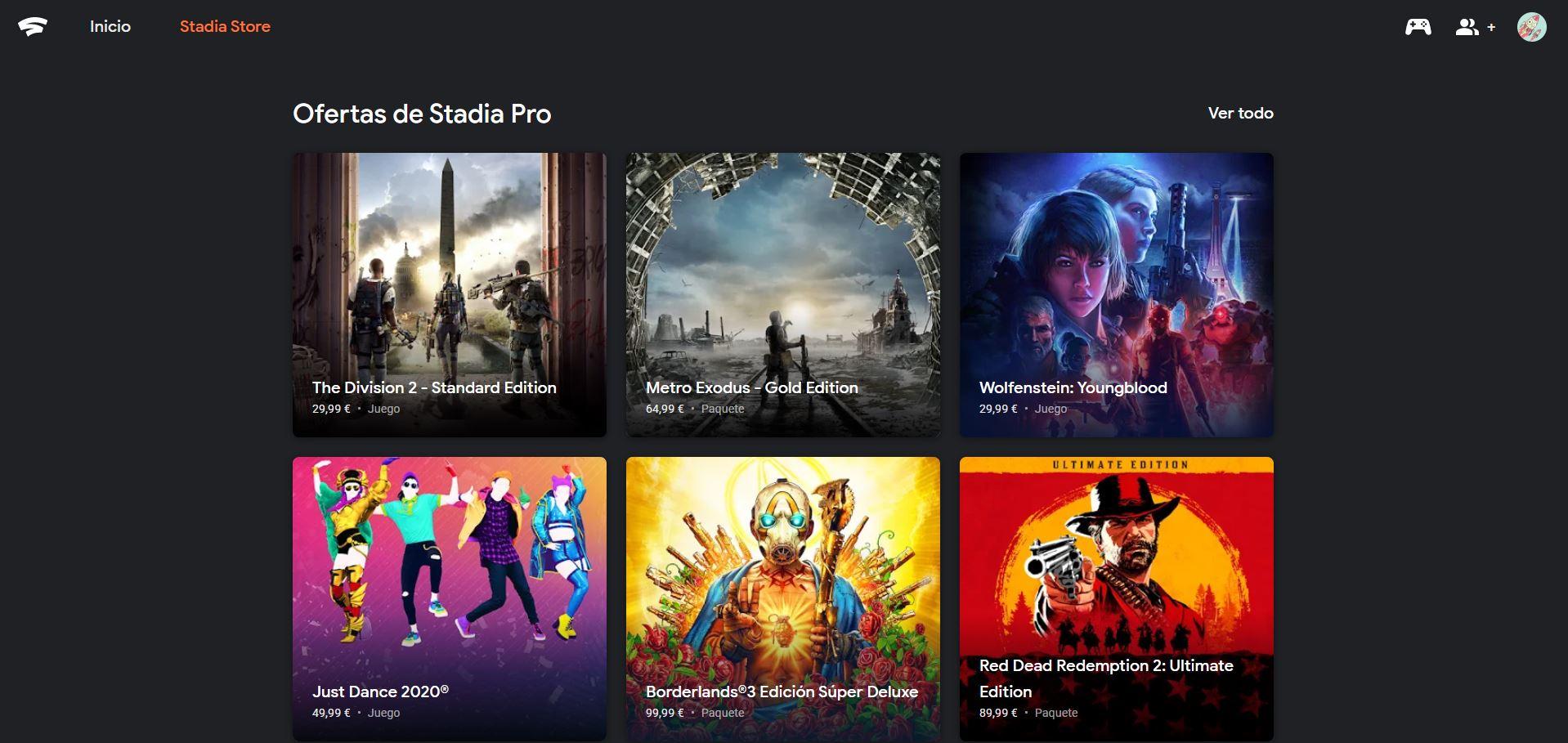 tienda-Google-Stadia-videojuegos