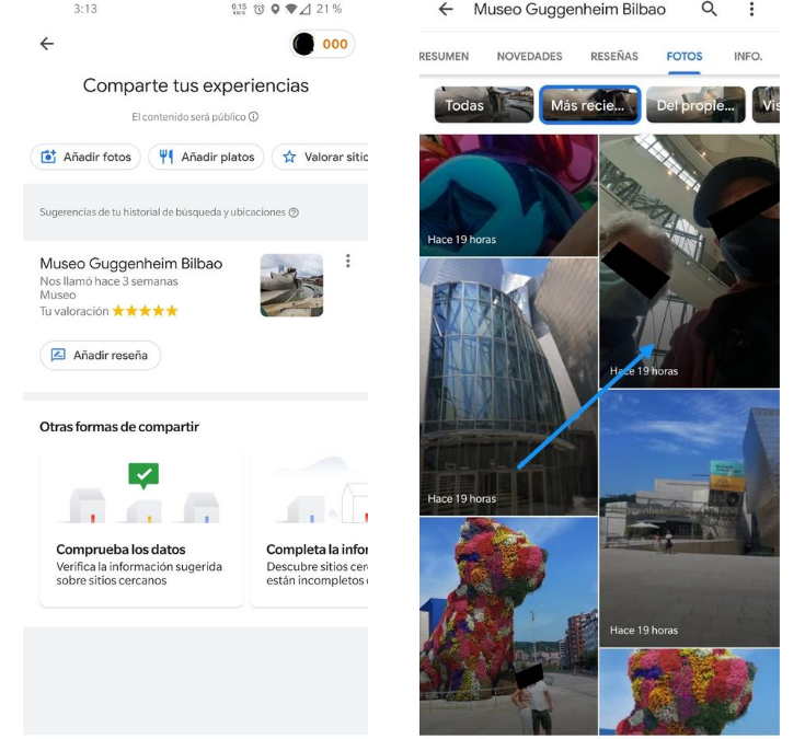 Riesgos de privacidad al activar la localización en las fotografías subidas a internet