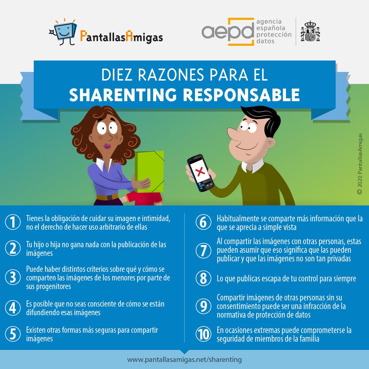 Diez razones para el sharenting responsable