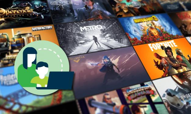 Cómo configurar el Control Parental en la tienda digital de videojuegos Epic Games Store