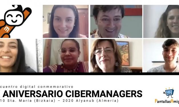 Cibermanagers de la última promoción conversan con Miren, que participó hace 10 años