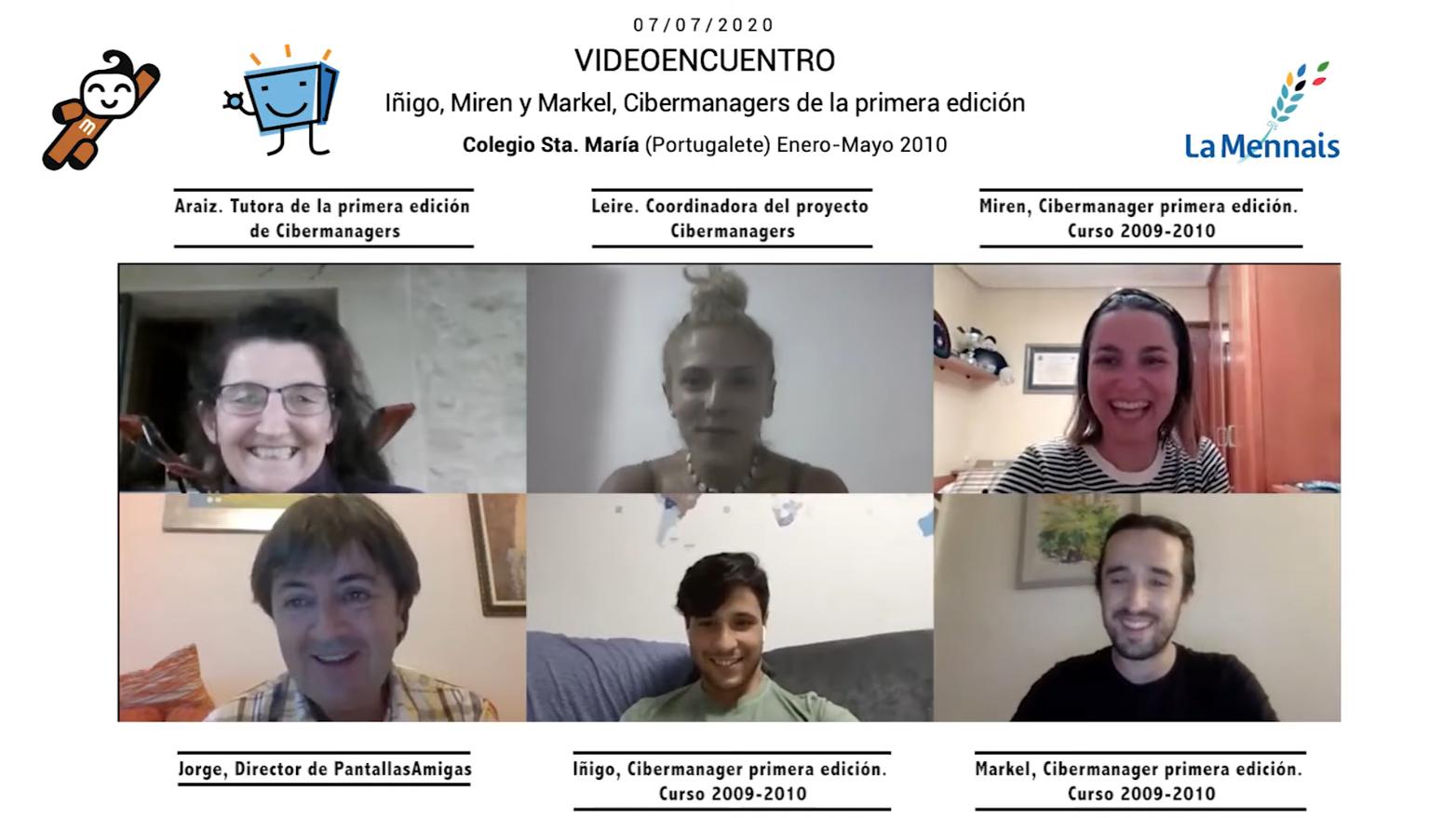 Videoencuentro Cibermanagers