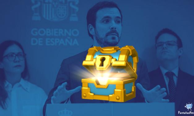 """El Gobierno de España regulará las «lootboxes» para considerarlas """"juego de azar"""""""
