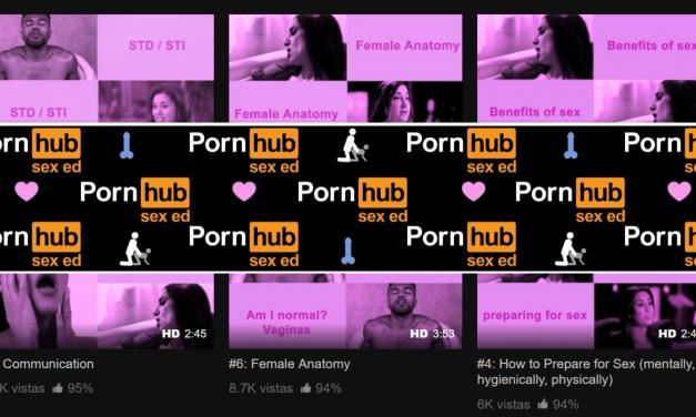 Pornhub estrena un canal de vídeos centrados en la educación sexual