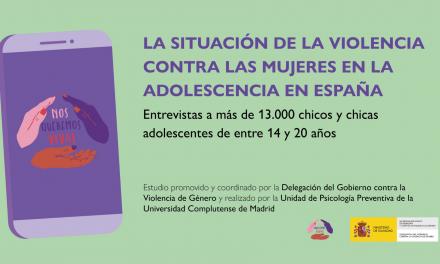 Estudio de La situación de la violencia contra las mujeres en la adolescencia en España