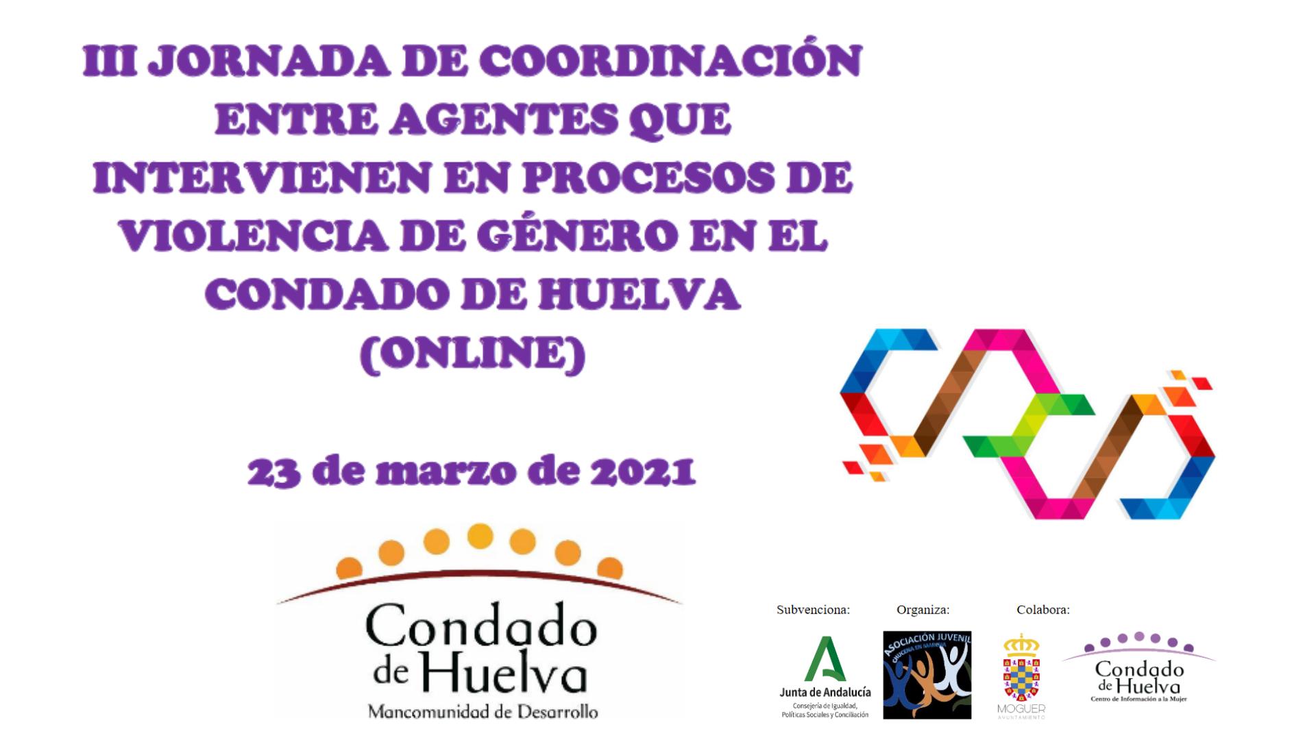 III Jornadas de Coordinación entre Agentes en el Condado de Huelva