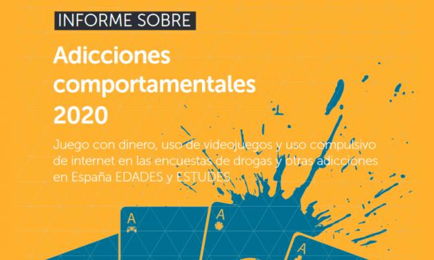 Uso compulsivo de internet: Informe sobre adicciones comportamentales 2020 EDADES y ESTUDES