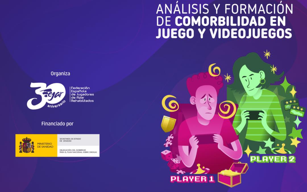 Seminario FEJAR: Comorbilidad en juegos y videojuegos, análisis y formación