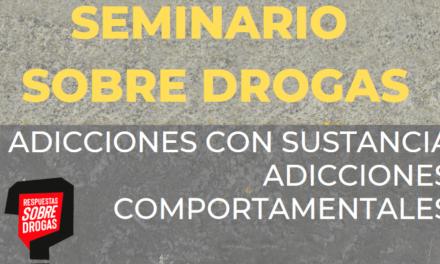 Adicciones con sustancia y adicciones comportamentales en el Seminario sobre Drogas de Cruz Roja Juventud