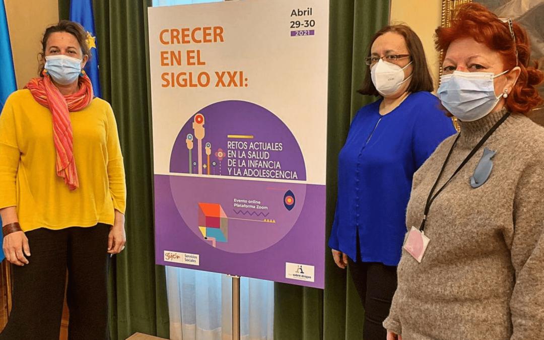 """XVVII Jornada Municipal sobre adicciones en Gijón: """"Retos Actuales en la Salud de la Infancia y la Adolescencia"""""""