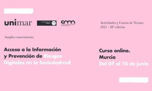"""Curso Universitario """"Acceso a la información y prevención de riesgos digitales en la Sociedad-Red"""""""