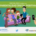 Decálogo para la Parentalidad Digital Positiva, pautas educativas para el bienestar digital en el Día Internacional de las Familias