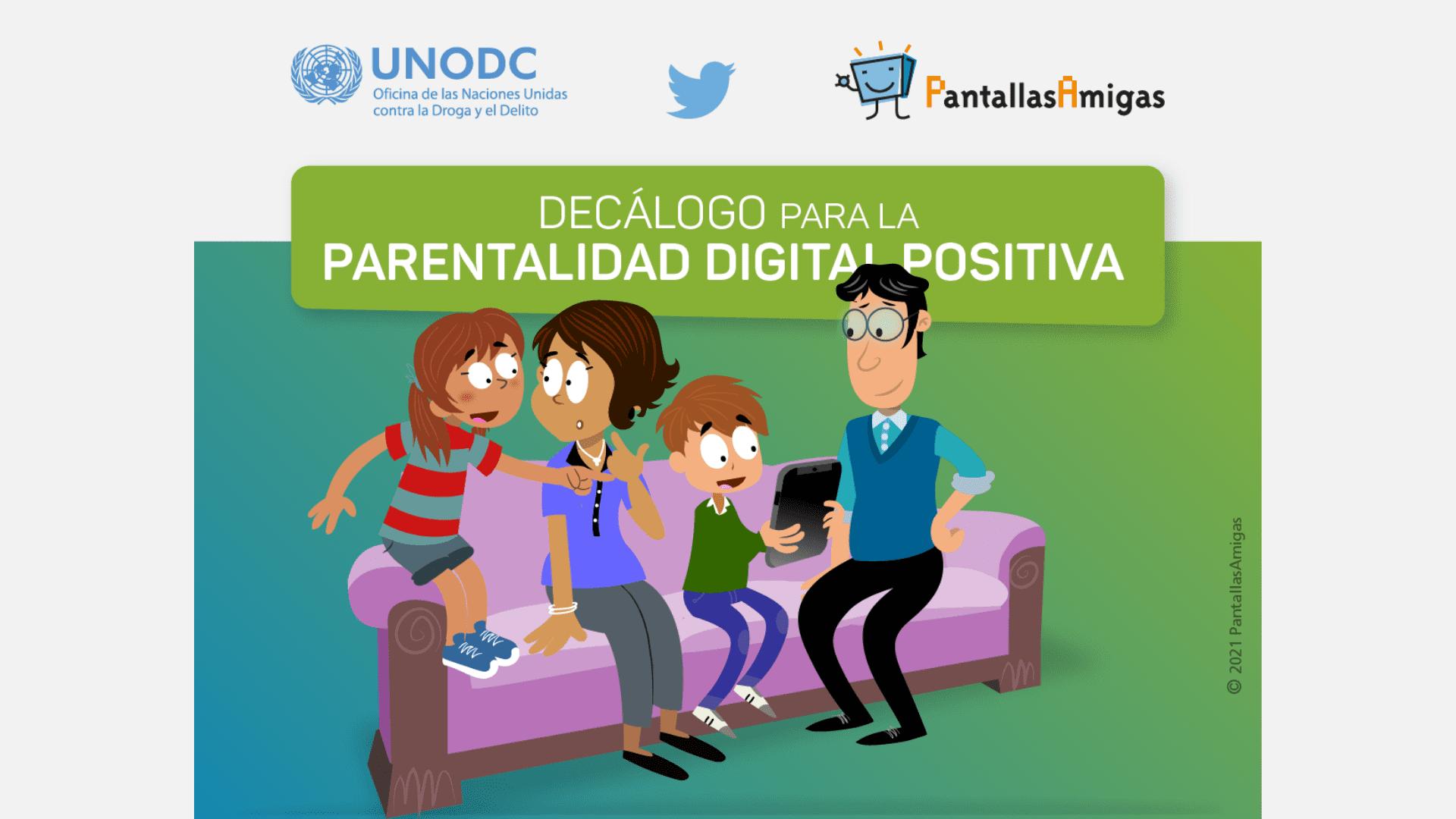 Decálogo para la parentalidad digital positiva