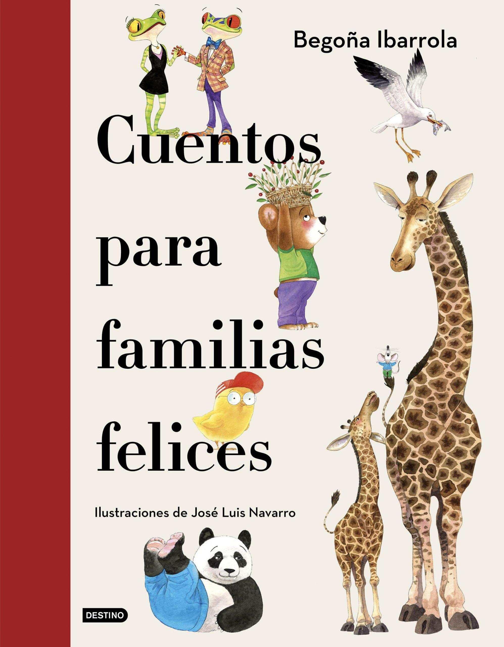 Cuentos para familias felices, nueva obra de Begoña Ibarrola