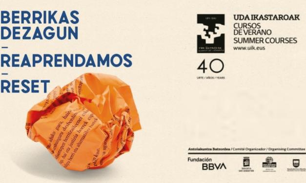 Curso de UPV/EHU, Educación, familia y TIC postpandemia: I will survive!