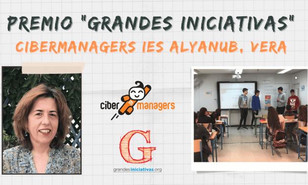 """Cibermanagers del IES Alyanub, Vera, Premio """"Grandes Iniciativas"""" a la Convivencia en el aula"""