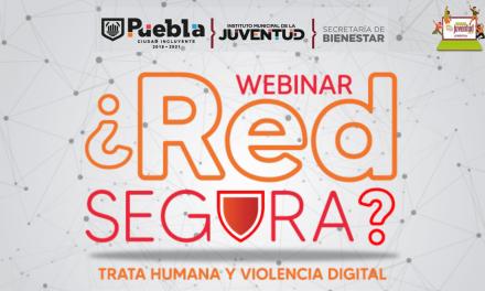 "Webinar ""¿Red Segura?"" Trata Humana y Violencia Digital"