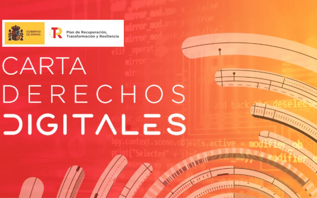 La Carta de Derechos Digitales de España promueve la protección de menores en el entorno digital