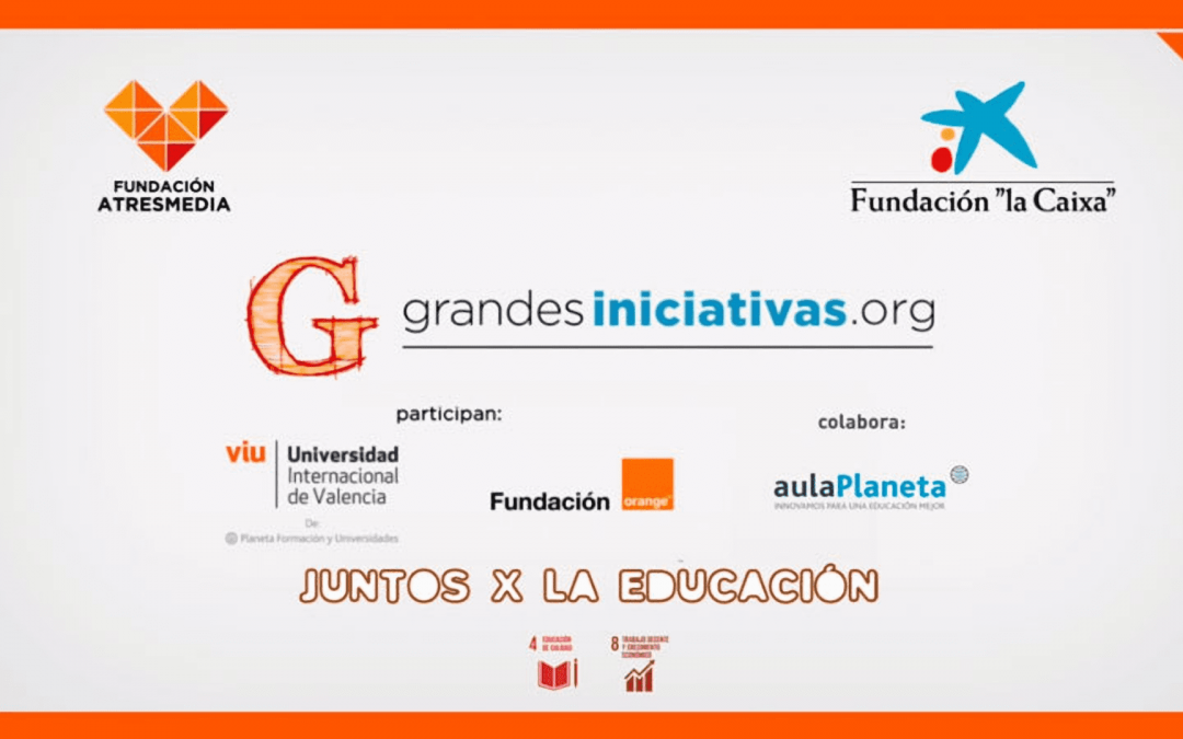 """Entrega de los Premios educativos de la octava edición """"Grandes Iniciativas"""""""