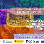 Ciberencuentro: 10º Encuentro Estatal de Cibercorresponsales